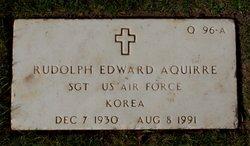 Rudolph Edward Aguirre