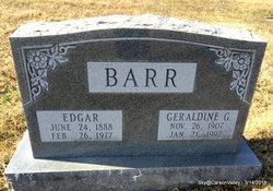 "PFC Edgar ""Porky"" Barr"
