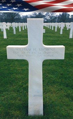 Sgt William H Browne