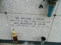 Mathilda <I>Matherne</I> Loupe