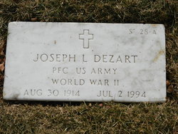 Joseph L Dezart