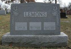 Sarah Jane <I>McCracken</I> Lemons