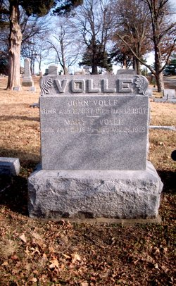 Mary Elizabeth <I>Burke</I> Volle