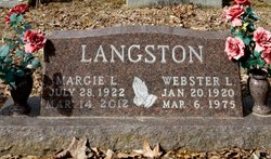 Margie L <I>Harmon</I> Langston