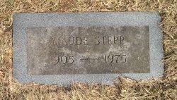 """Maude """"Molly"""" <I>Cook</I> Stepp"""