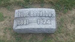 Maude Cora <I>Williams</I> Broaddus