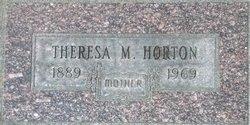 Theresa M Horton