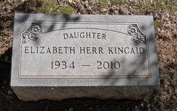 Helen Elizabeth <I>Herr</I> Kincaid