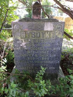 Mary A. <I>Decker</I> Rysdyke