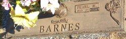 Mattie Pearl <I>Moore</I> Barnes