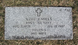 Helen S <I>Kline</I> Mills