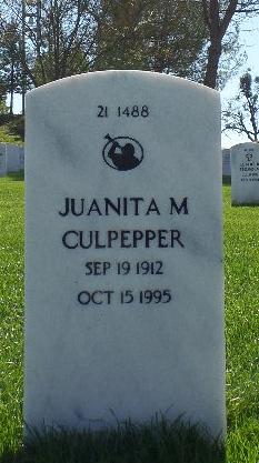 Juanita M Culpepper