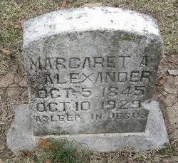 "Margaret Anne ""Maggie"" <I>Sproles Chavis</I> Alexander"