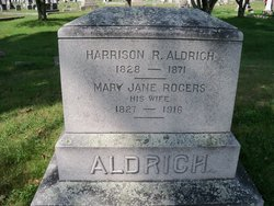 Mary Jane <I>Rogers</I> Aldrich