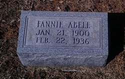 Fannie <I>Cosby</I> Abell