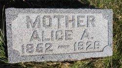Alice Amanda <I>Burdick</I> Jeffrey