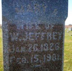 Mary Ann <I>Fitz Randolph</I> Jeffrey