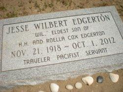 "Dr Jesse Wilbert ""Wil"" Edgerton"