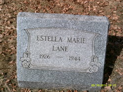 "Estella Marie ""Stella"" Lane"