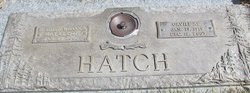 Edith <I>Wilcock</I> Hatch