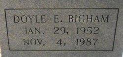 Doyle E Bigham