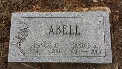 """Francis C """"Johnny"""" Abell"""