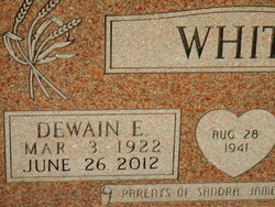 Dewain E. White