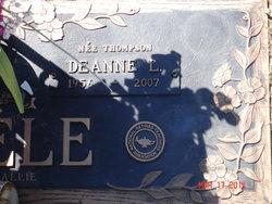 Deanne L <I>Thompson</I> Thoele