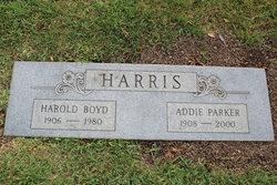 Addie <I>Parker</I> Harris
