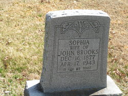 Sophie M. <I>Pierce</I> Brooks