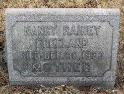 Nancy <I>Rainey</I> Freeland