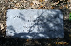 Emmitt E Patterson