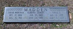 Sarah <I>Worsham</I> Madden