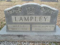 Hattie Mai <I>Mangrum</I> Lampley