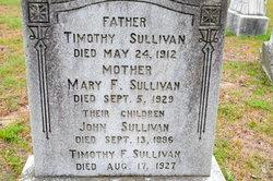 Mary F. <I>Crowley</I> Sullivan