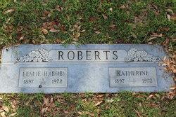 "Leslie Harold ""Bob"" Roberts"