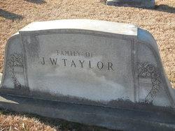 Annie Mae <I>Chapman</I> Taylor