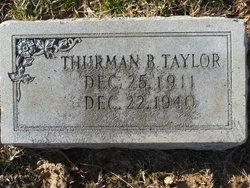 Thurman B. Taylor