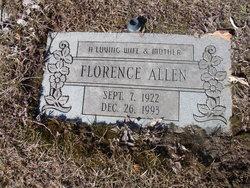 Florence <I>Phillips</I> Allen