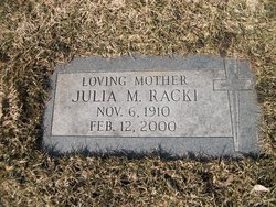 Julia Marie <I>Roberts</I> Racki