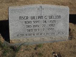 Rev Fr William G Wellein