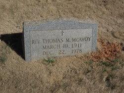 Rev Thomas McAvoy