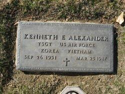 Kenneth Ezell Alexander