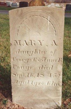 Mary A. Poage