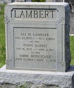 Roine <I>Burris</I> Lambert