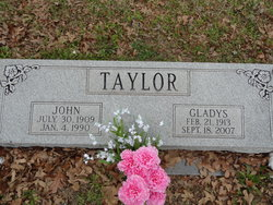 Gladys Coreen <I>Muston</I> Taylor