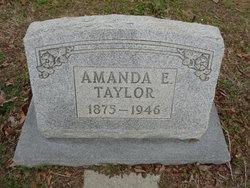 "Amanda E. ""Mandy"" <I>Robbins</I> Taylor"