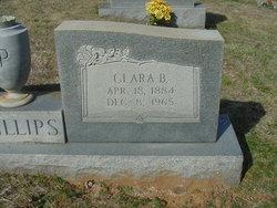 """Clara Bertha """"Bertie"""" <I>Smith</I> Phillips"""