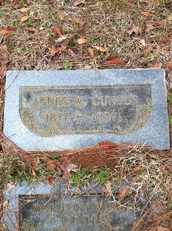 Agnes W Watson
