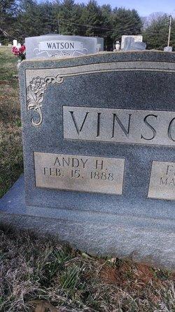 """Andrew Hampton """"Andy"""" Vinson"""